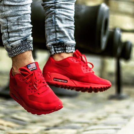 info for cc77c bbba2 Nike スニーカー NIKE Air Max 90 Hyperfuse Independence Day エアマックス90 赤 ...