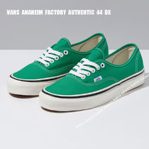 VANS★ANAHEIM FACTORY AUTHENTIC 44 DX★EMERALD GREEN