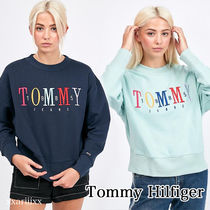 ◆NEW◆TOMMY JEANS◆ 1985 ロゴ スウェット シャツ / 2色