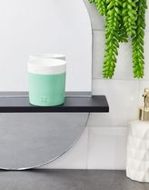 River Island miami candle in mint