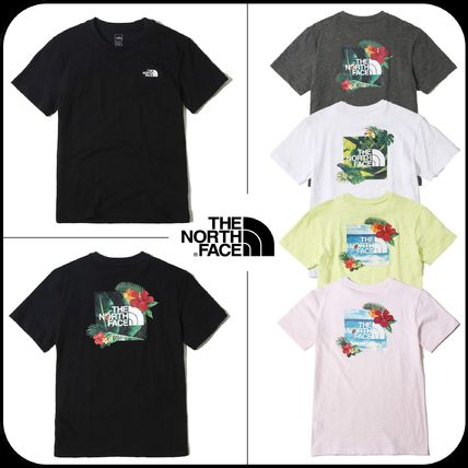 THE NORTH FACE Tシャツ・カットソー 【THE NORTH FACE】★19SS NEW ★  NEW AQUA S/S R/TEE