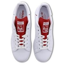 【英国発】adidas ☆スタンスミス☆Stan Smith White-White-Red