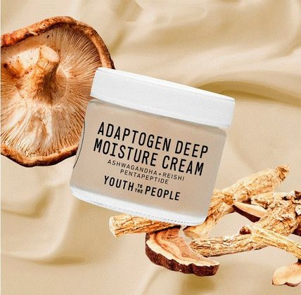 Adaptogen Deep Moisture Cream with Ashwagandha + Reishi