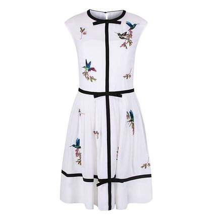 ☆★ Ted Baker ★☆ lina Embroidered High Grove Dress