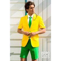 OPPOSUITS☆GREEN AND GOLD メンズ スーツ 半袖