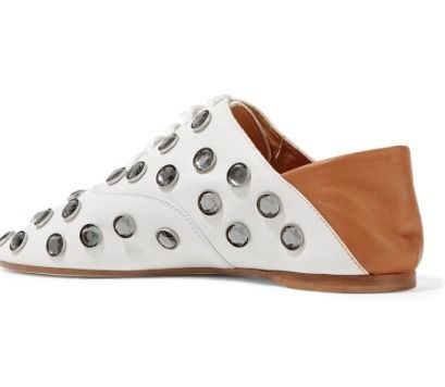 Acne シューズ・サンダルその他 Acne Studios☆Mika crystal-embellished leather ヒールスリッパ(2)