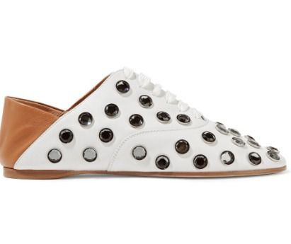 Acne シューズ・サンダルその他 Acne Studios☆Mika crystal-embellished leather ヒールスリッパ(3)