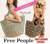 日本未入荷*Free People* Eva Printed Jute Tote