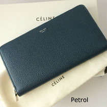 貴重な旧ロゴ♪Celine★LARGE ZIPPED  長財布 SALE