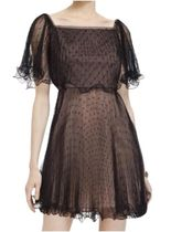 最終SALE! BCBG MAXAZRIA Tulle Overlay Cocktail Dress