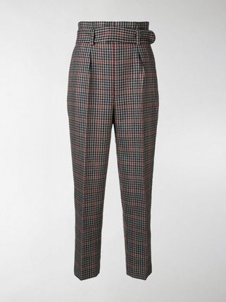 ERDEM パンツ 関税込◆Nelle checked trousers(2)