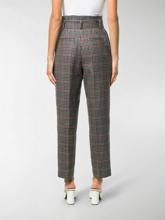 ERDEM パンツ 関税込◆Nelle checked trousers(5)