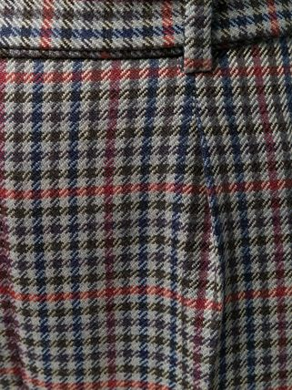 ERDEM パンツ 関税込◆Nelle checked trousers(6)