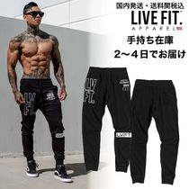 国内発送・送料関税込み☆LIVE FIT☆Stacked Joggers - Outline