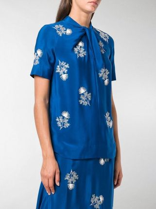 ERDEM トップスその他 関税込◆floral-embroidered top(4)