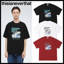 ★イベント/関税込★thisisneverthat★FISHING CLUB TEE★3色★