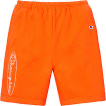 関税無料 Supreme/Champion Outline Sweatshort Orange