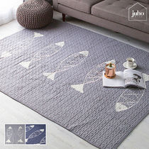 juhoDECO★FISH QUILT RUG 160×210 2カラー