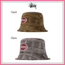 完売必須!! 19SS!!☆STUSSY☆LOLA PLAID KNIT BUCKET HAT (WMNS)