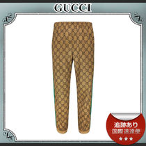 19SS/送料込≪GUCCI≫ GG Technical Jersey ジョギングパンツ