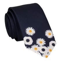 Mrs Bow Tie Floral Edge in Daisies Tie