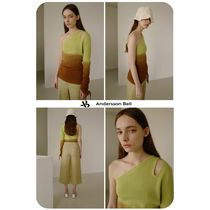 [Andersson Bell]★ONE SHOULDER PIECE DYEING SWEATER