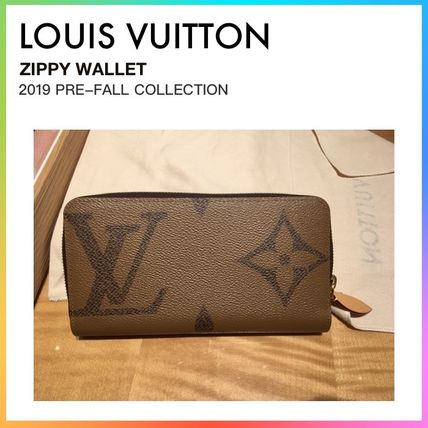 the latest 90549 1a4f7 新作*LV*直営店購入*ジャイアントモノグラム*ジッピーウォレット*ルイヴィトン