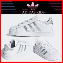 ☆韓国の人気☆【ADIDAS】KIDS☆ ELASTIC INFANT ☆12-16cm☆