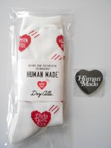送料無料!Human Made x Girls Don't Cry SOCKS 缶バッチ SET