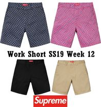Supreme シュプリーム Work Short SS 19 WEEK 12