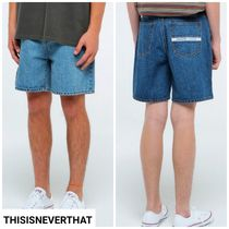 新作★thisisneverthat★Denim Skate Short 2色