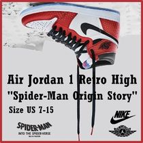 NIKE Air Jordan 1 Retro High OG Spider Man Origin Story 2018