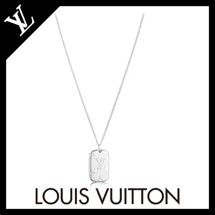 Louis Vuitton ネックレス・チョーカー 19SS《Louis Vuitton》モノグラムメダリオンネックレス