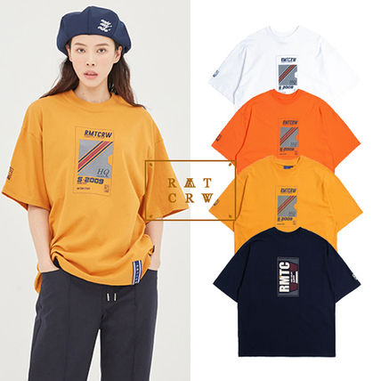 韓国 正規品  [ROMANTIC CROWN] E.D.V POST MAN T SHIRT 4色