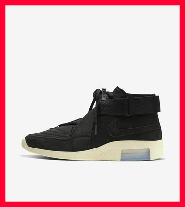 購入証明付Nike Air Fear Of God RAID BLACK FOGスニーカー