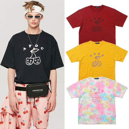 ★A PIECE OF CAKE★Tシャツ Big Cherry Bear T-shirts【全4色】