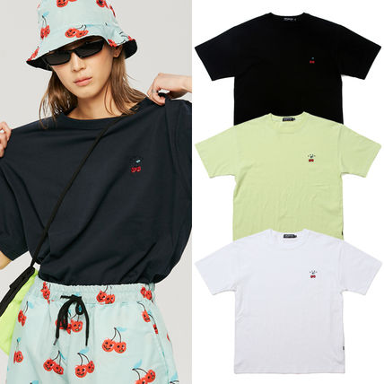 ★A PIECE OF CAKE★ 韓国TシャツCherry Bear T-shirts【全4色】