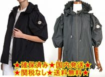 size 0◆確保済◆関税なし国内発送MONCLERフリルコートPANSY黒