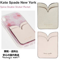 【Kate Spade new york】sylvia double sticker スマホ ポケット