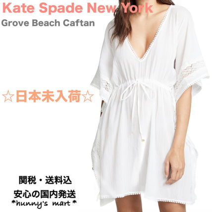 【Kate Spade new york】grove beach long caftan カバーアップ