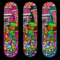 SS19 SUPREME MOLOTOV KID SKATEBOARD DECK 全色 WEEK12