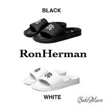 【クール】Ron Herman MONOGRAM SLIDE  サンダル