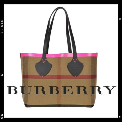 Sale【Burberry】The 'Giant' reversibile tote bag