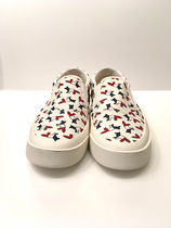 MAISON KITSUNE(メゾンキツネ) ALL-OVER TRICOLOR FOX PRINT 靴