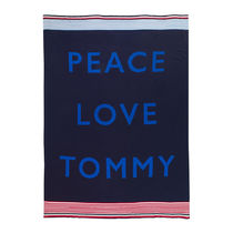 【Tommy Hilfiger】お洒落☆Tommy Cares スローケット- Navy