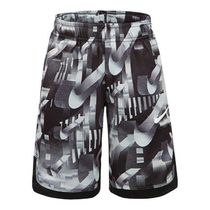 NIKE 86E397 023 KIDS DRY FIT DOMINANTE SHORT BLACK