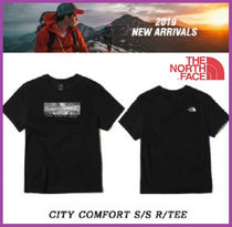 [THE NORTH FACE] CITY COMFORT S/S R/TEE 黒 追跡付 男女共用