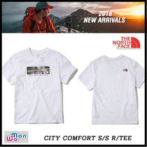 [THE NORTH FACE] CITY COMFORT S/S R/TEE 白 追跡付 男女共用