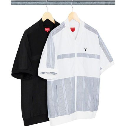 Supreme Playboy Leisure Zip Up Top SS19