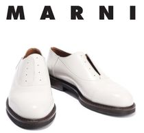 [関税・送料込]MARNI☆Glossed-leather brogues